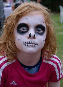 maquillage enfant fantôme
