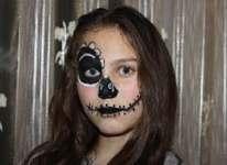 maquillage enfant Haloween