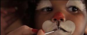 Maquillage Renne de Noël